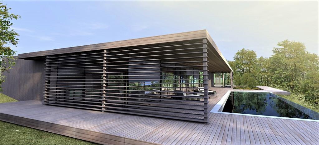 maison contemporaine Aix-en-Provence