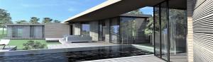 maison contemporaine bois Luberon