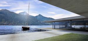 Villa contemporaine bord du lac