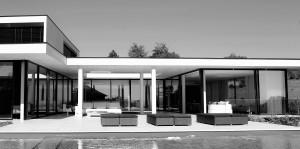Villa contemporaine d'architecte à Aix en Provence