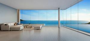 Maison contemporaine vue mer st tropez cote d'azur architecte